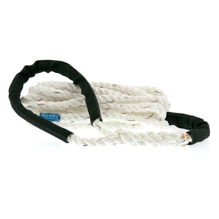 PolyRopes Ligne damarrage 10mm Blanc STORM
