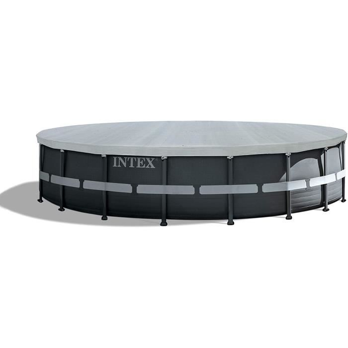 INTEX B&acircche de protection Deluxe pour piscine Ø 5,49 M6