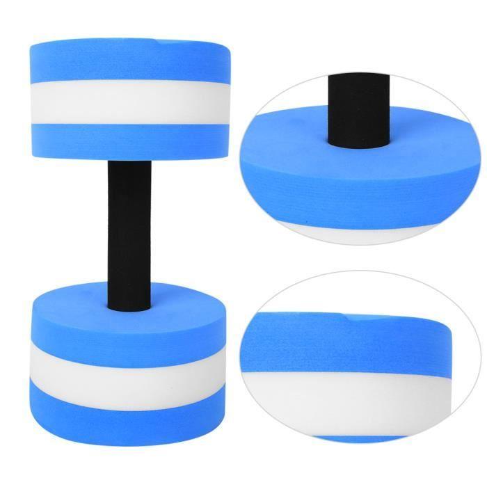 CHI ◘ Haltère en mousse de fitness(bleu blanc )