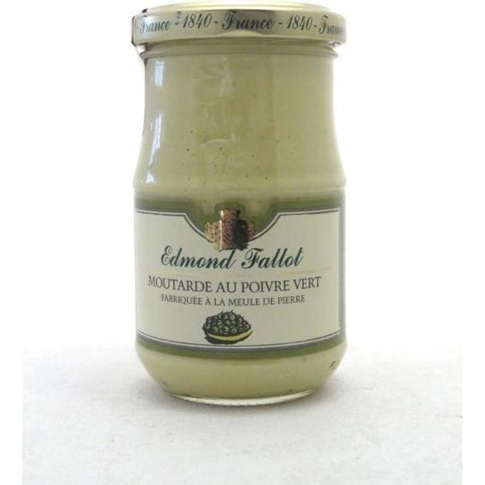 Moutarde de Dijon poivre vert 21 cl