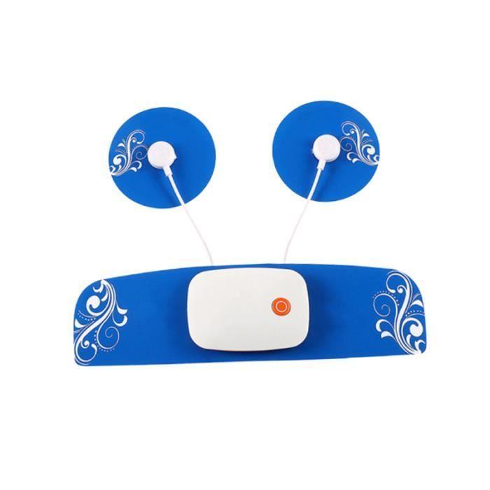 1 Pc masseur cervical contrôle du téléphone petit intelligent EMS stimulateur d'impulsion autocollant ABDO DEVICE - ABDO BOARD