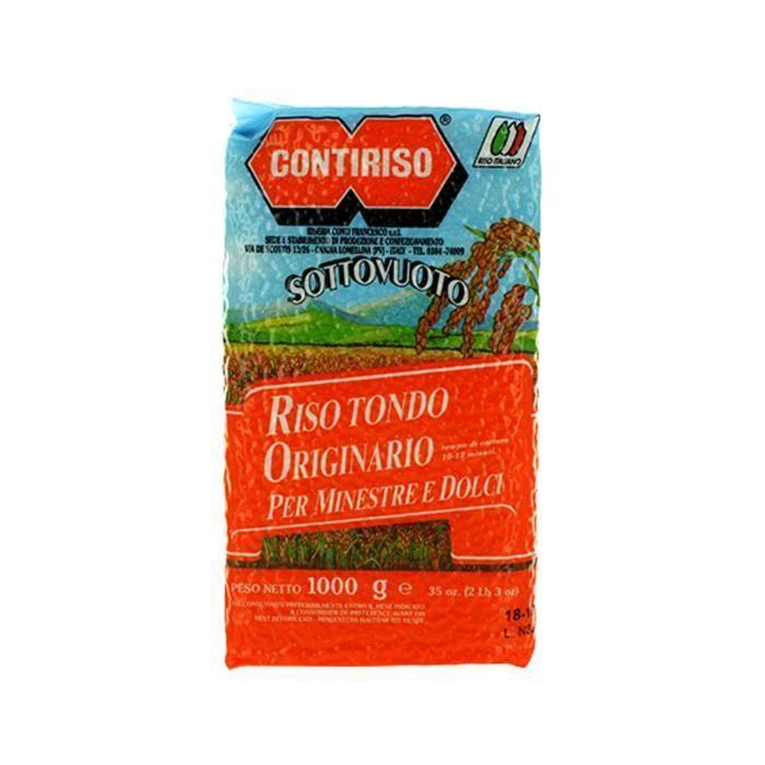 Riz rond Contiriso - 1 kg