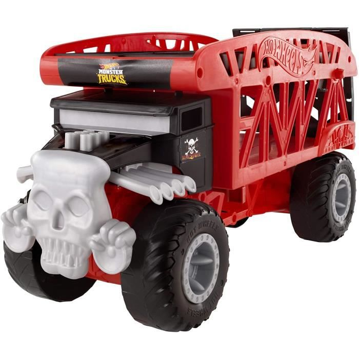 VEHICULE MINIATURE ASSEMBLE ENGIN TERRESTRE MINIATURE ASSEMBLE Hot Wheels Monster Trucks Transporteur pour contenir jusqu'&agr569