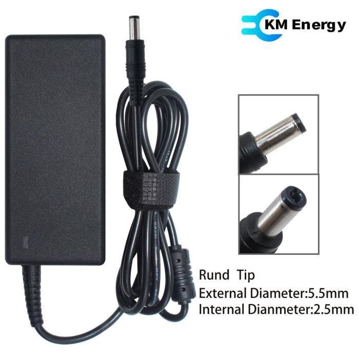 Chargeur adaptable pour pc portable portable Asus R750jv