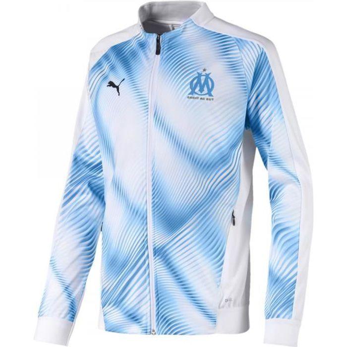 Veste de football Puma Olympique de Marseille Stadium Replica Junior - 755874-01