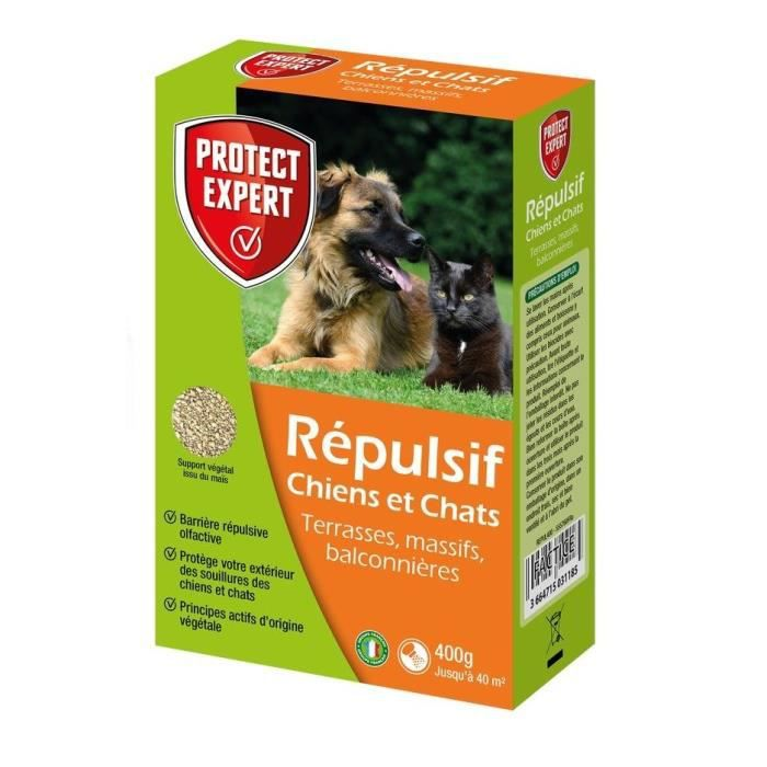Protect Expert REPUL400 Chiens Et Chats - Granules - 400 g Pex