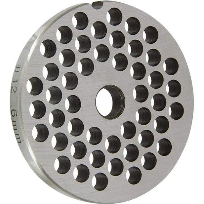 REBER Grille pour Hachoir électrique - N°12 - Diamètre 6 mm
