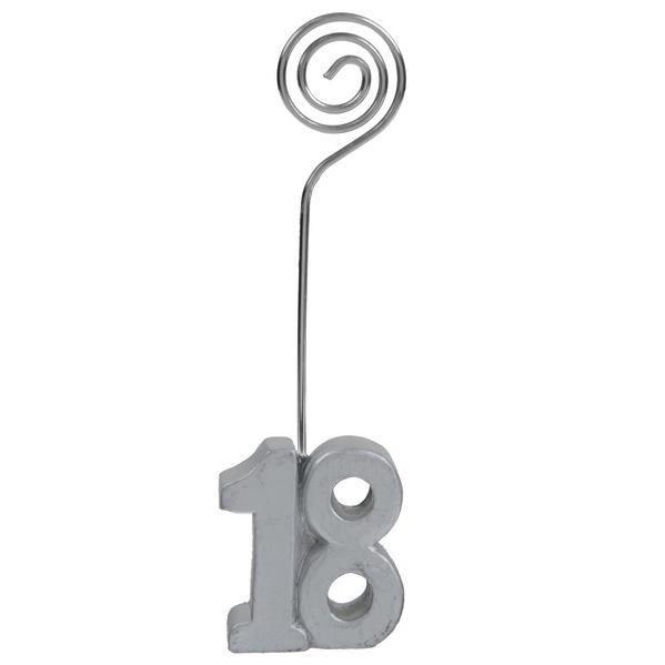Marque-place anniversaire argent 18ans (x2) REF/4291