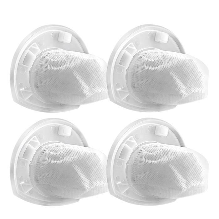 Paquet De 4 Filtres Vf110 Decker Dustbuster Et Black Remplacement, Piece Compatible Avec Aspirateurs A Mainchv1410L,Chv1510,Chv9610,