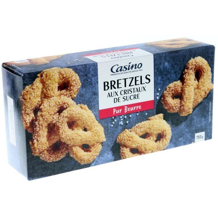 Bretzels au sucre 150 g