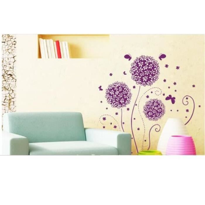 Objet de decoration murale little flower muraux stickers for Decoration murale objet