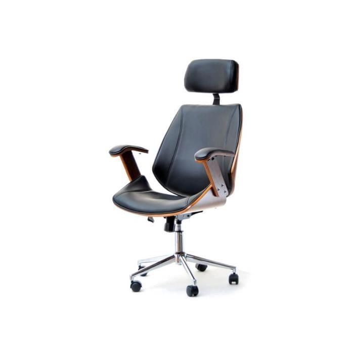bureaunoyer Alexis noir Achat chaise et Vente de If7b6Yyvg