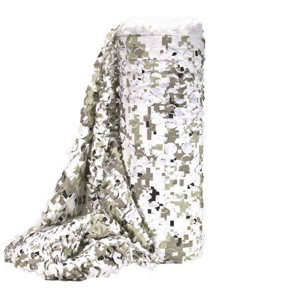 1 m x m de filet de camouflage snow digital bulk a la - Filet de camouflage pas cher ...