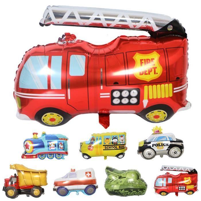 Ambulance Train Voiture Ballons Dessin Anime 1 Pc Camion De Pompier Enfants Cadeaux Anniversaire Bricolage Fete Decorations Feuill Achat Vente Ballon Decoratif Cdiscount