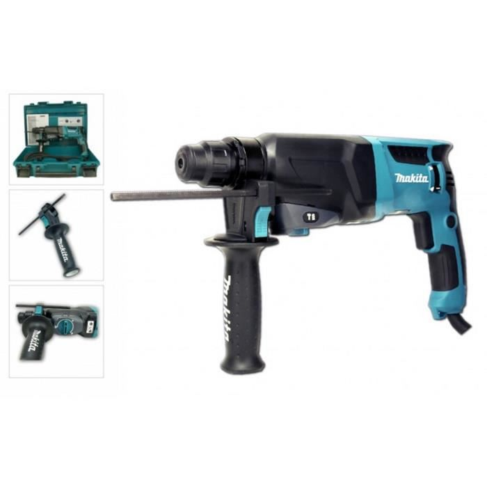 makita perforateur burineur sds hr2610 800w achat. Black Bedroom Furniture Sets. Home Design Ideas