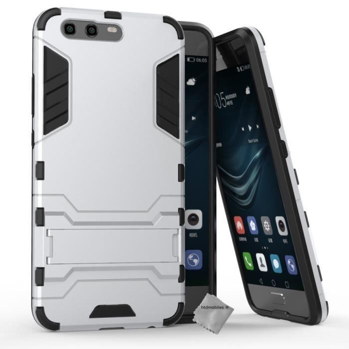 Coque rigide anti choc pour Huawei P10 film ecra