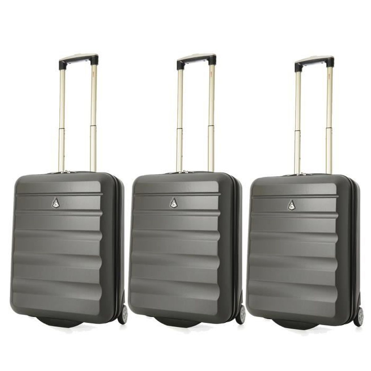 aerolite 55x40x20 taille maximale ryanair bagage cabine main valise souple l ger 2 roulettes. Black Bedroom Furniture Sets. Home Design Ideas