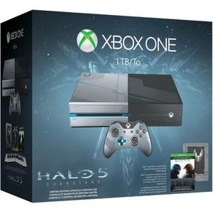 CONSOLE XBOX ONE Xbox One 1 To Ed Collector + Jeu Halo 5