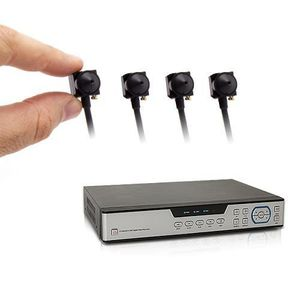 CAMÉRA DE SURVEILLANCE Kit enregistreur de vidéosurveillance et quatre ca