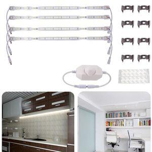 BANDE - RUBAN LED Bande de LED 4Pcs 50cm SMD 5630 DC12V Coque En Alu