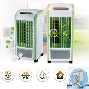 CLIMATISEUR MOBILE 4 en 1 vert de refroidisseur d'air avec humidifica