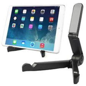 SUPPORT PC ET TABLETTE Support tablette Ipad et Samsung pliable noir