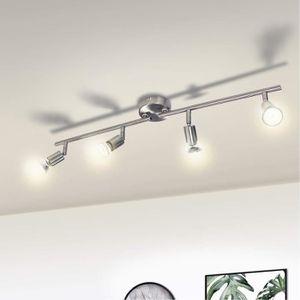 PLAFONNIER WOWATT Plafonnier LED à 4 spots Orientables avec 4