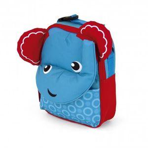 SAC À DOS sac à dos éléphant 28 cm bleu/rouge