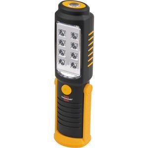 LAMPE DE POCHE BRENNENSTUHL Lampe de poche portable 8+1 SMD LED
