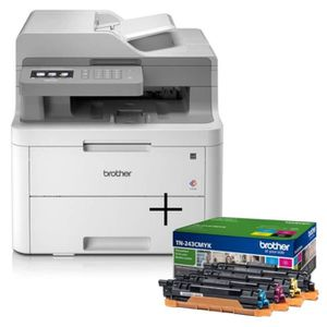 IMPRIMANTE PACK BROTHER : Imprimante DCP-L3550CDW - Multifonc