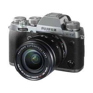 APPAREIL PHOTO RÉFLEX FUJI X-T2 Graphite Silver KIT XF 18-55mm F2.8-4 Bl