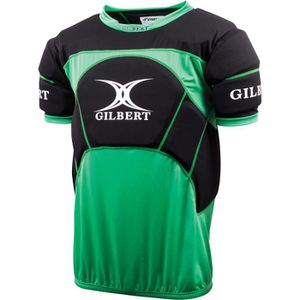 PROTEC POTEAUX RUGBY T-shirt protection Gilbert Contact Pro Top - vert/