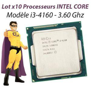 PROCESSEUR Lot x10 Processeur CPU Intel Core I3-4160 3.6Ghz S