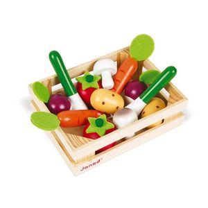 MARCHANDE Cagette en Bois 12 Légumes