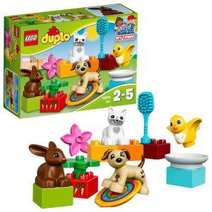 ASSEMBLAGE CONSTRUCTION Lego Duplo Ville Animaux famille pour les enfants