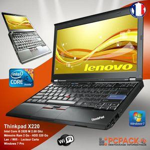 NETBOOK LENOVO X220 i5 4G 320G WIFI Win7