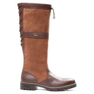 femme Glanmire Achat Chaussures Dubarry Marron Bottes D9EIbeWH2Y