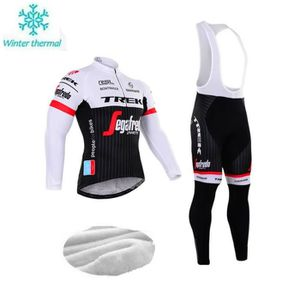 TENUE DE CYCLISME Trek Segafredo molleton thermique de cyclisme pour