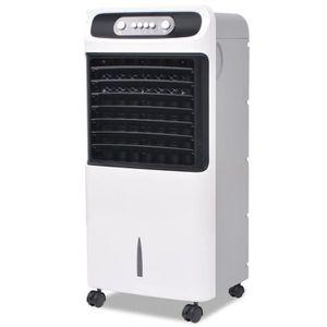 Refroidisseur d'air-Climatiseur mobile portables umidificateur cooling ventilateur mobile 80 W 12 L 496 m3 - h