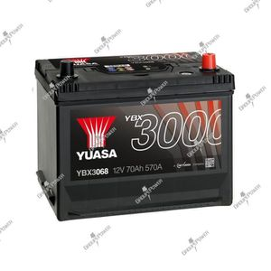 BATTERIE VÉHICULE Batterie auto, voiture YBX3068 12V 70Ah 570A Yuasa