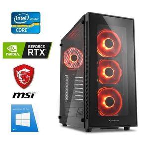 ORDINATEUR TOUT-EN-UN PC Gamer I7-9700K - GeForce RTX 2060 6GO - 16GO RA
