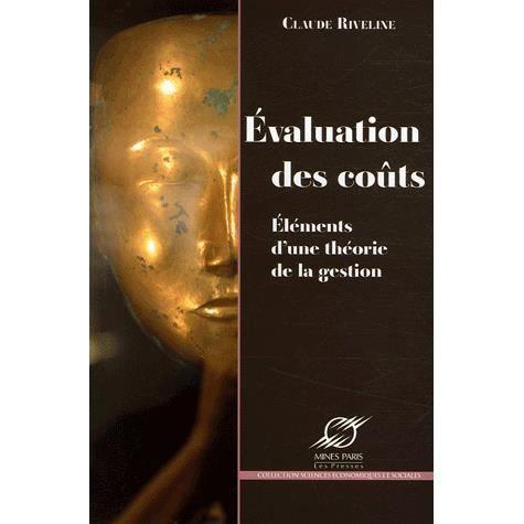LIVRE GESTION Evaluation des coûts