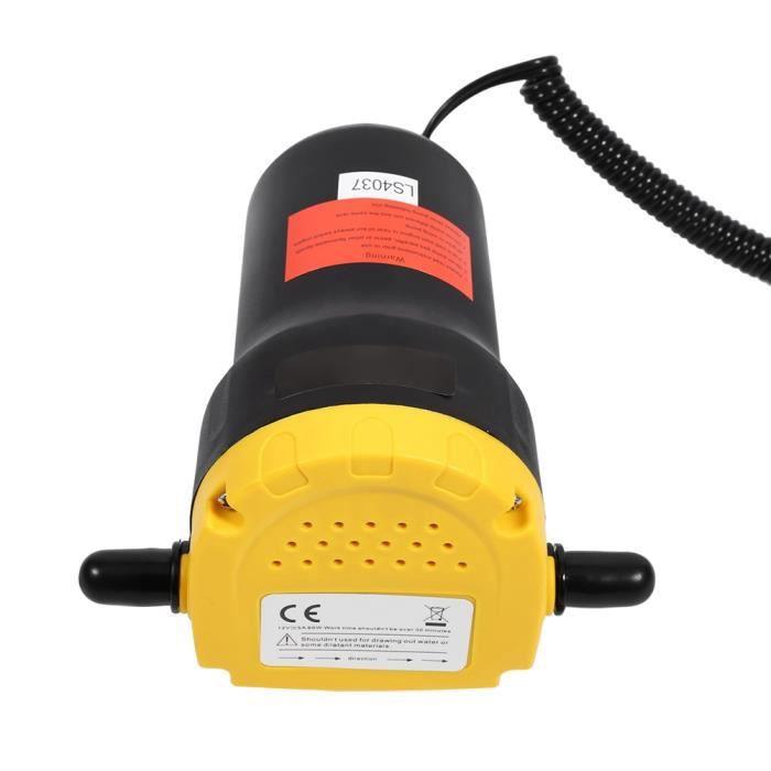 12V 60w Pompe à Huile Auto-Amorçante Aspiration Électrique Pompe Transfert Fluide Diesel Pour Bateau Moto Voiture HB022 -Haute