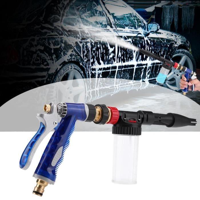 Pistolet de nettoyage de voiture de Pistolet de lance de mousse de neige de pression détachable
