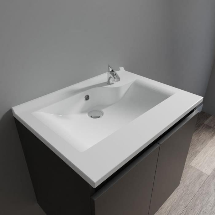 Plan simple vasque design RESILOGE - 60 cm