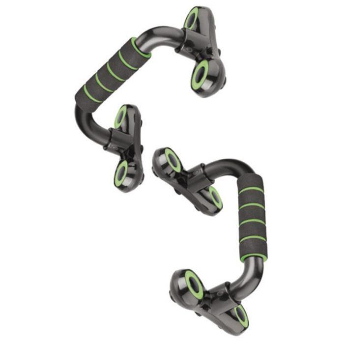 barre pour traction -Support de pompes en forme de H Support de Fitness antidérapant Support de ...- Modèle: Black - ZOAMFWZDA07926