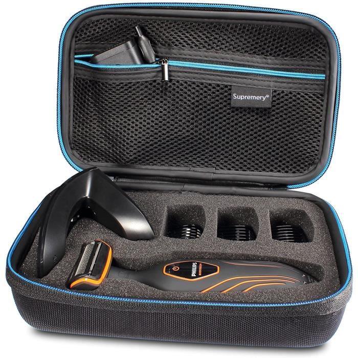 Tondeuses corps Supremery Poche pour Philips Bodygroom Séries 3000 BG2026-32 Boîte Coquille de Protection Étui Sacoche d 342097
