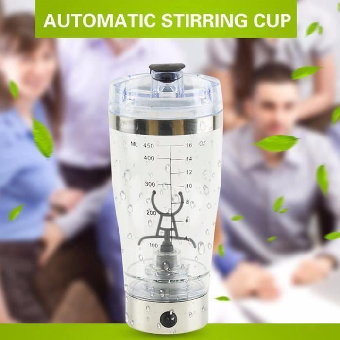 Nouvelle bouteille d'eau melangeur shaker electrique de proteine Mouvement automatique de vortex de tornade 600 ml tasse de Da09458