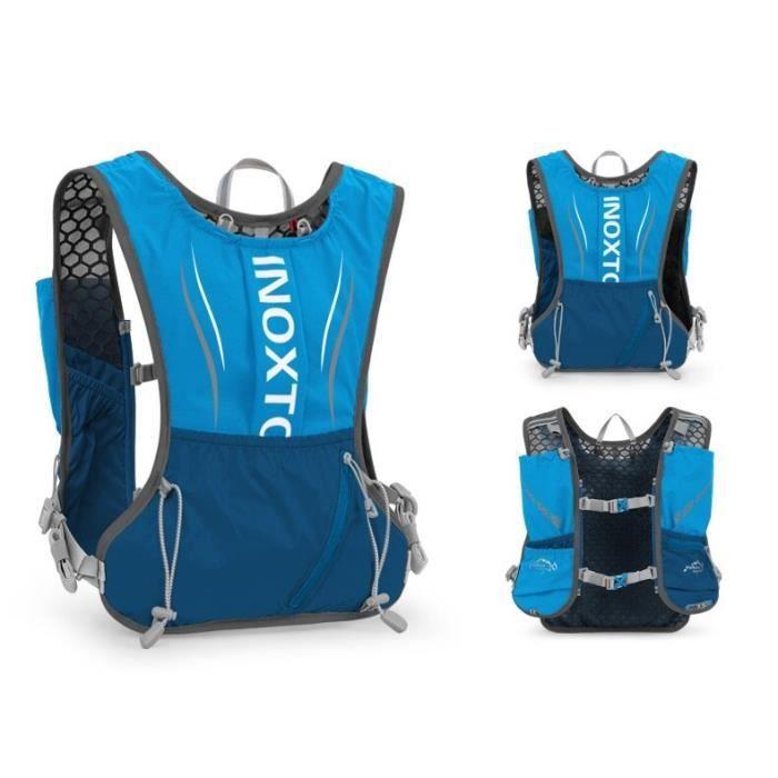 Sac à dos gilet hydratation pour hommes et femmes, 5l, pour course à pied, Sport de plein air, Trail, Marathon PK61036546