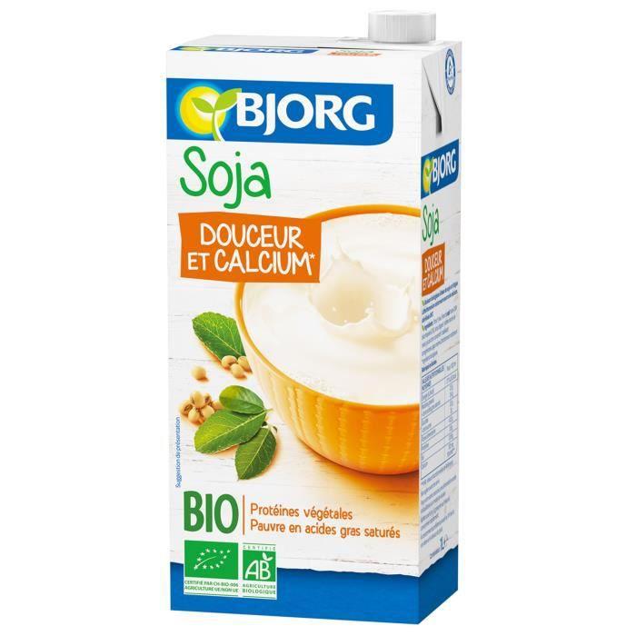 Soja douceur et calcium 1 l Bjorg